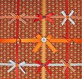 Memoboard Fotowand Stoff quadratisch Vintage Orange