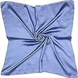 QYX Sciarpa In Pura Seta Da Donna Sciarpe 100% Seta Di Gelso Bandane Leggere Per Capelli Da Donna Testa Collo Decorazione Cop