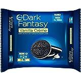 Sunfeast Dark Fantasy Vanilla Creme 300g Pack | Dark Crunch with Smooth crème
