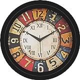 Mishty Designer Wall Clock for Home,Office,Living Room,Bedroom (Pendulam, 10x10 inch) (Pendulam, 10 x 10 inch) (4, 12 X…