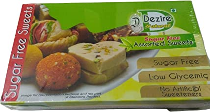 Dezire LG Natural Diabetics Sugarless Assorted Spl 500 Grams