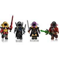 Roblox ROB0306 Lot de 4 Figurines Dominus Dudes [Comprend Un Article virtuel Exclusif]