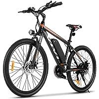 """VIVI E-Bike Mountainbike, 26"""" Elektrofahrrad Pedelec, 350W Electric Bike mit Abnehmbarer 10,4 Ah Lithium-Ionen-Batterie…"""