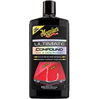 Meguiar's G17216 Ultimate Compound Colour & Clarity Restorer 450ml for hand or machine polisher application