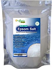 Organic Ways Epsom Salt for Bathing, Relaxing Foot and Pain Relief Therapeutic Spa Treatment, 900g