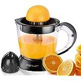 Aigostar Thomas Elektrische citruspers, 40 W, capaciteit 1 l, BPA-vrij, sap sinaasappel citroen grapefruit, 2 verwisselbare k