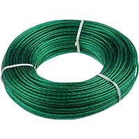 Keim 535007 Corde à Linge avec câble en Acier 50 m Plastique 17 x 3 x 3 cm Vert