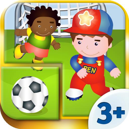 Puzzle enfants - Jeux avec Ben (9 pièces) 3+