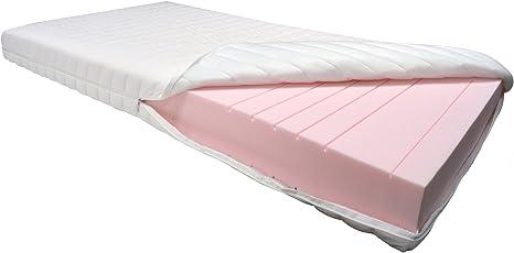 Betten-ABC OrthoMatra-KSP-1000, 9 Zonen Kaltschaummatratze, Höhe 16 cm, Abnehmbarer und waschbarer Bezug