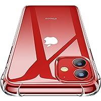 CANSHN Cover Compatibile con iPhone 11, Custodia Trasparente per Assorbimento degli Urti con Paraurti in TPU Morbido…