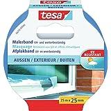 tesa Masking Tape PRECISION OUTDOOR, 25m x 25mm, blauw