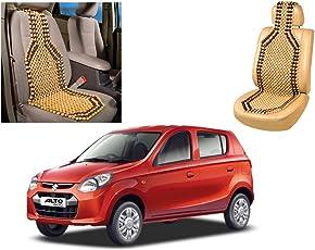 Auto Pearl Car Wooden Bead Seat Cover for Maruti Alto 800