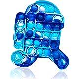 Pincez Sensorielle Jouet Pousser Pop Bubble Sensory Fidget Toy Silicone Anti-Stress Jouets de Soulagement de L'anxiété Educat