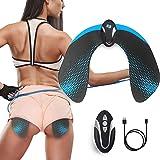 Moonssy Electrostimulateurs Musculaire fessier, Appareil d'électrostimulation Femme, Hips Trainer, Appareil de Fesse Intellig