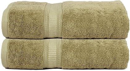 Trident Organica 2 Pcs Hand Towel Fossil Green