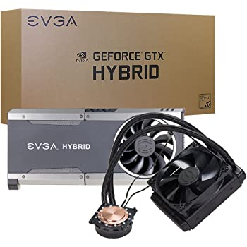 EVGA 400-hy-5288-b1 scheda video refrigeratore – Ventola per PC, scheda video, enfriador, GTX 1080, 1070 FTW, Nero, 121 mm, 27,5 mm