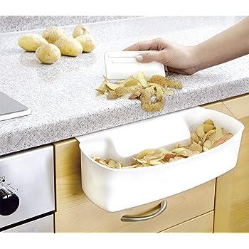 Innovativer und praktischer 4 in 1 K/üchenhelfer Stabile Organizer f/ür Ordnung beim Kochen. Topfdeckelhalter und L/öffelablage aus hochwertigem Bambus Halter und Deckelhalter f/ür saubere K/üche