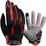Bbrand Cycling gloves, Cycle Gloves for Men Gel Padded, Mountain Bike Gloves for Men Women