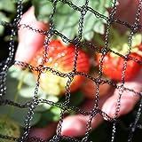 Tech-Garden - 2 m x 5 m - Anti Bird Netting Heavy Duty for Ponds Fruit Trees Crop Plants Vegetables & Bushes. Strong, Black P