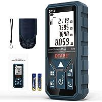 Télémètre Laser Numérique,DTAPE DT50 50m Mètre laser numérique,Mesure du théorème de longueur/Zone/Volume/Théorème de…