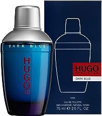 Hugo Boss HUGO DARK BLUE homme / man, Eau de Toilette, Vaporisateur / Spray, 1er Pack (1 x 75 ml)