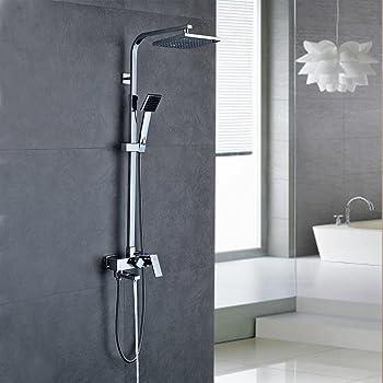 duschsystem inkl thermostat duschkopf 30x30cm handbrause duscharmatur dusche baumarkt. Black Bedroom Furniture Sets. Home Design Ideas