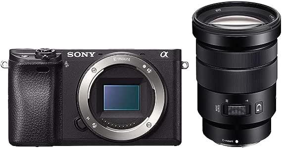 Sony Alpha 6300 E-Mount Systemkamera 3 Zoll schwarz
