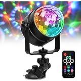 Bola de discoteca LED Chenci con USB para iluminación de fiestas, luz ambiental con 7modos de color, control por voz, con ma