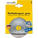 Schellenberg 36002 rolluikriem 23 mm x 6,0 m - MAXI-systeem, rolluikriem, riem, rolluikband