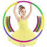 /Ø60//70//80cm hoopomania De Colores para ni/ños de Hula Hoop para peque/ños Profesionales