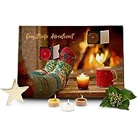 Römer Wellness Articles Cadeaux : Bougies parfumées Calendrier de l'Avent feu Ouvert avec 24 Bougies parfumées à la…