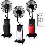 Dardaruga Digital Ventilateur Brumisateur d'air d'intérieur avec télécommandeT (Réservoir XXL 3,10 Litres) IONISEUR, ANTI-MOU
