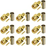 Eightwood SMA Connector SMA Stekker Connector Crimp RG58 Kabel voor 4G Antenne SMA Wifi Antenne SMA Antenne 4G LTE Antenne Ro