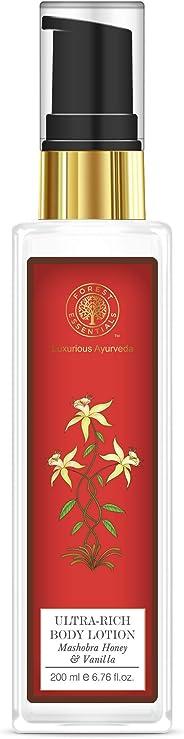 Forest Essentials Mashobra Honey and Vanila Ultra Rich Body Lotion, 200ml