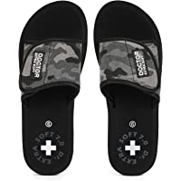 DOCTOR EXTRA SOFT Women's Camo Ortho Care Orthopaedic and Diabetic Velcro Adjustable Strap Super Comfort Dr Sliders…