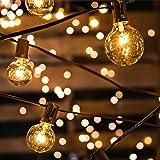 Guirlande Guinguette Extérieure Avoalre® 10m 30 Ampoules Guirlande Lumineuse Interieur avec 3 Rechange Guirlande Guinguette R
