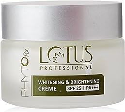Lotus Professional PhytoRx SPF25 PA+++ Whitening and Brightening Creme, 50g