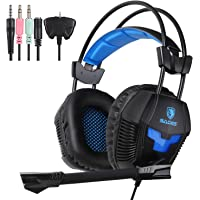Yanni New Sades 3.5 mm stereo Wired Gaming Headset fascia cuffie con microfono