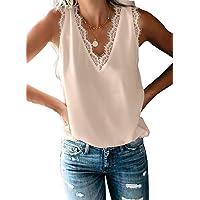 Dokotoo Femme Chemisier en Fluide Blouse Manche 3/4 Imprimé Chemise Avant Nœud Tunique Lâche T Shirt Top Printemps Eté