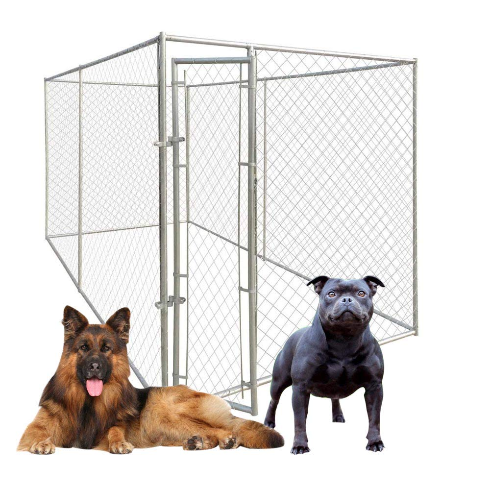 Outdoor Dog Kennel, Pet Cage Dog Crate 4×2 m