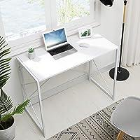 MSmask Bureau pliable, pour ordinateur, petite table d'étude, pour la maison et le bureau, peu encombrant