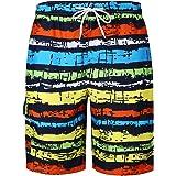 Tenchif Mens Board Shorts Quick Dry Beachwear Swimwear Swim Trunks for Summer Holiday
