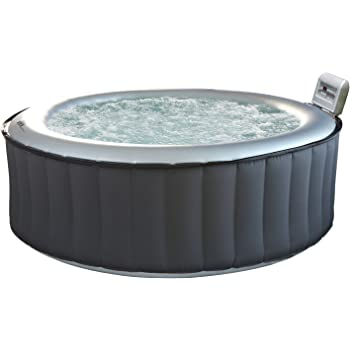 Happy Garden Spa gonflable rond SILVER CLOUD - 4 places  Amazon.fr ... 7d12728222b0