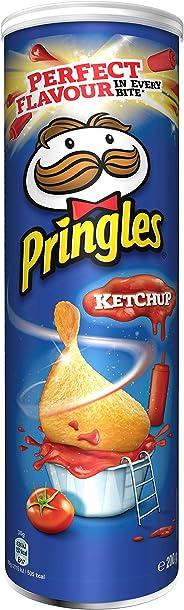 Pringles Ketchup Flavored Chips 200 grams Can