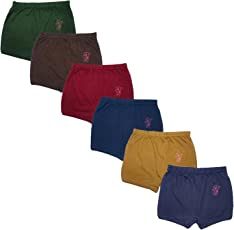 VINAB Kids Briefs Cotton Multicolour Solid Brief for Boys(Pack of 6)