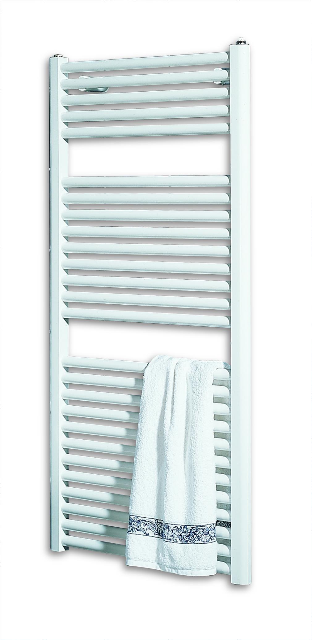 Schulte Monaco radiatore bagno 775mm x 400mm Bianco alpino 361Watt en442H0764004
