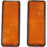 Filmer 36503Reflektor, eckig, orange, Set von 2