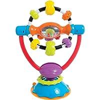 Tigex sonaglio a ventosa per seggiolone con giocattolo da far girare a partire dai 3 mesi
