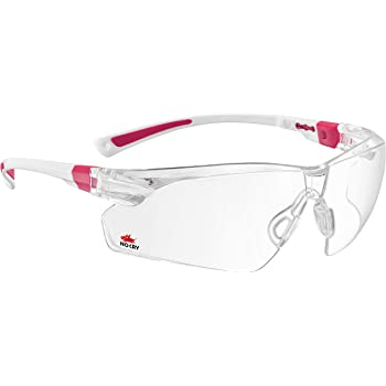 c49d1ffcc5 NoCry Safety Glasses with Clear Anti Fog Scratch Resistant Wrap-Around  Lenses and No-Slip Grips