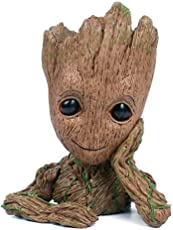 FIRE & KE ROTATING KING Guardians of The Galaxy Flowerpot (Brown)